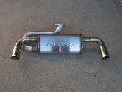 NC Cruiser Dual exhaust